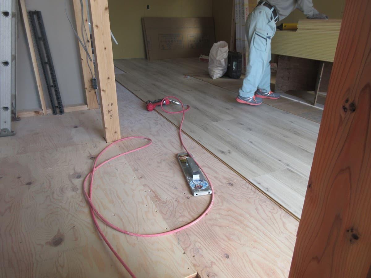 【現場レポート‼】新築注文住宅柳川市K様邸。大工工事進行中です‼