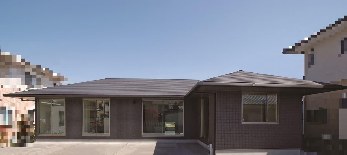 施工事例 8 コンパクトでありながら大人のグレード感が漂う平屋の家〔HIRAYAシリーズ〕