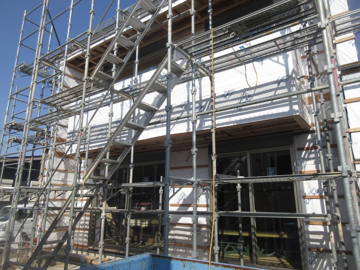 【現場レポート‼】NEWモデルハウス『LifeBox』大工工事進行中です‼