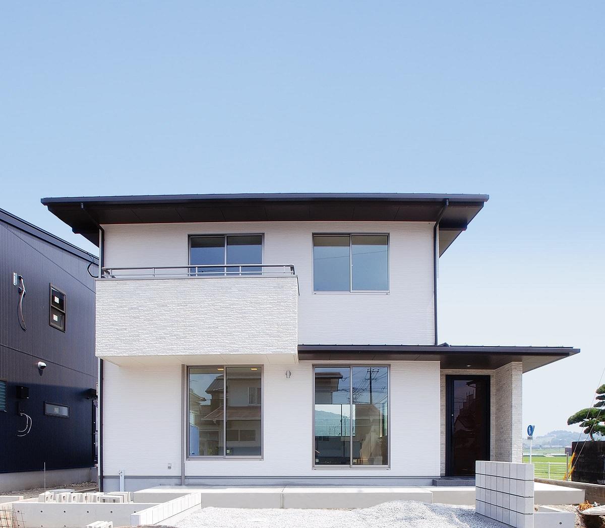 施工事例 4 南側のファサードをデザインした長期優良住宅